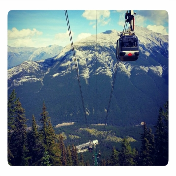 Cable car in Whistler