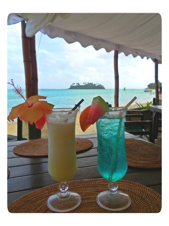 cocktails in Rarotonga