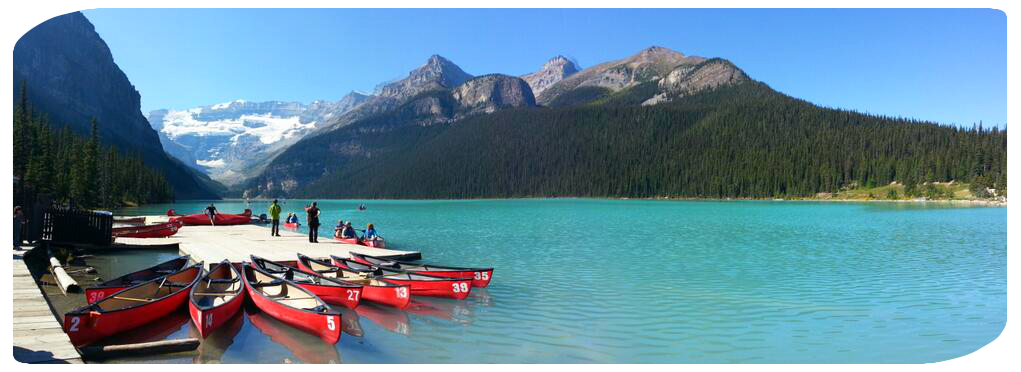 Fancy living and working somewhere like this? Lake Louise, Banff National Park