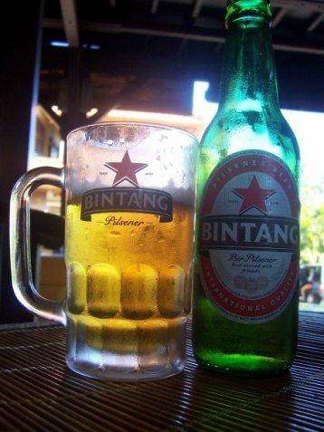 Famous Bintang beer, Bali