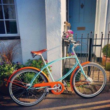 Cycling in Devon, UK
