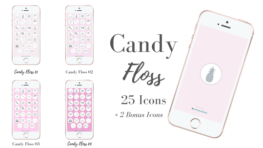 Candy Floss Icons