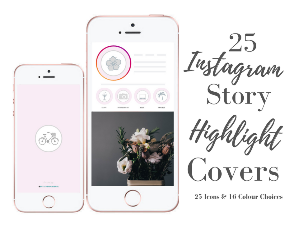 25 Instagram Story Highlight Covers