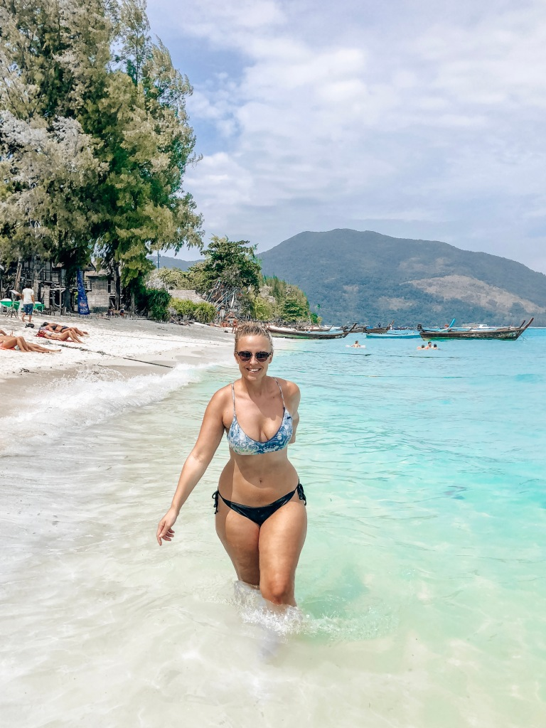 Koh Lipe Castaway Resort Beach on Koh Lipe Island Thailand