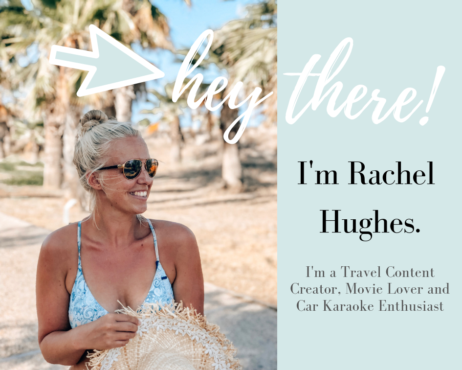 Hey There! Im Rachel Hughes. I'm a Digital Media Creator and love to Travel the World.