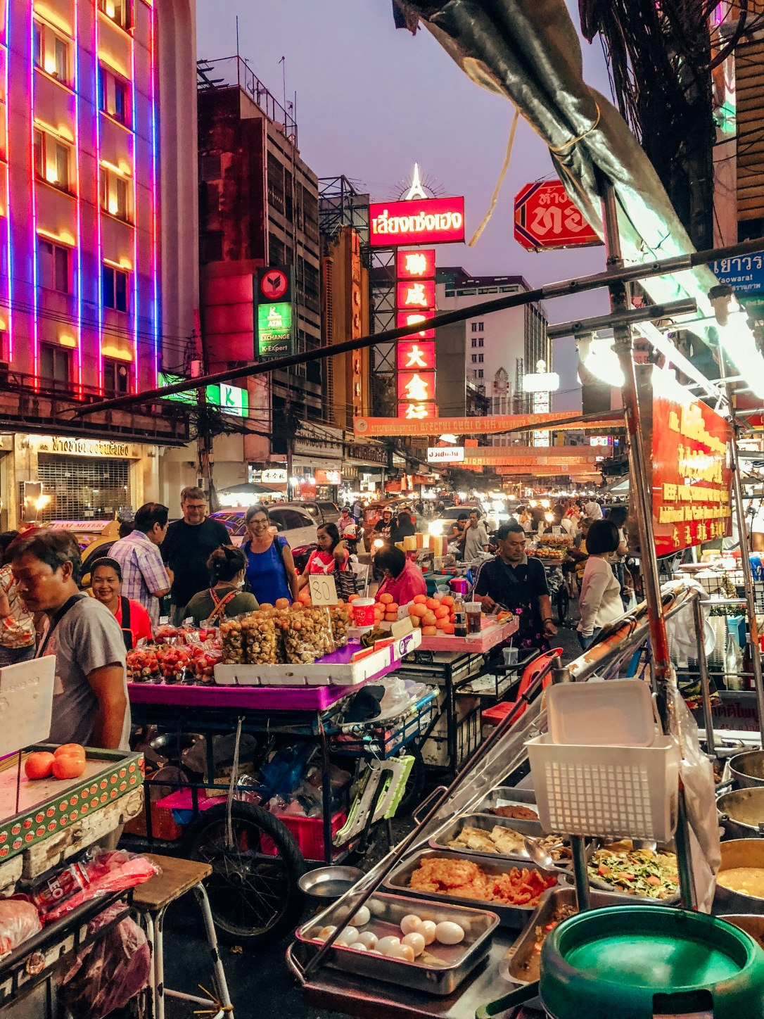 Street Food, Chinatown, Bangkok