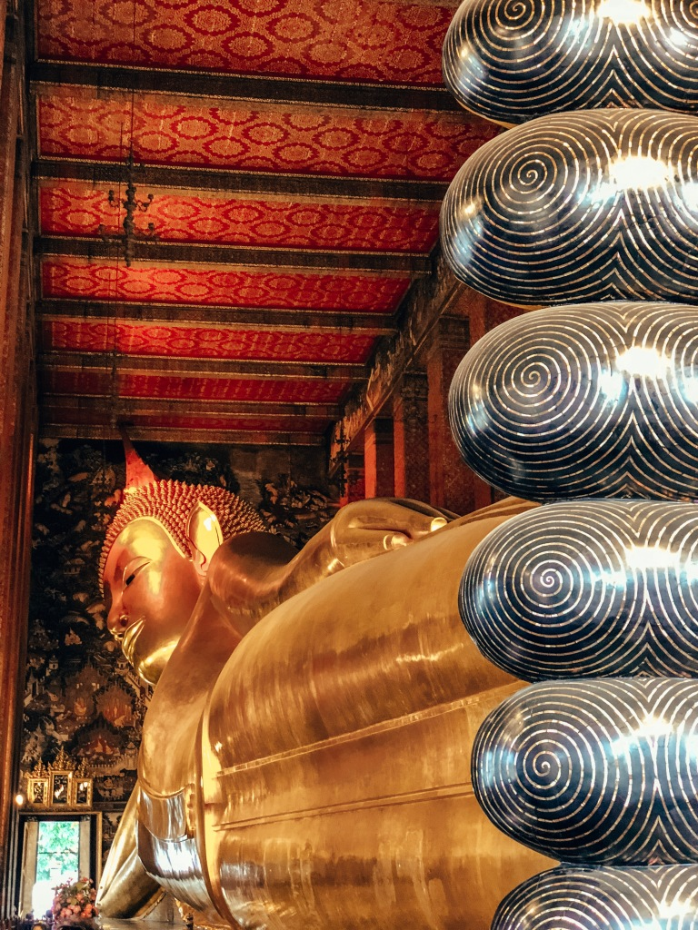 Reclining Buddha, Wat Pho Temple, Bangkok