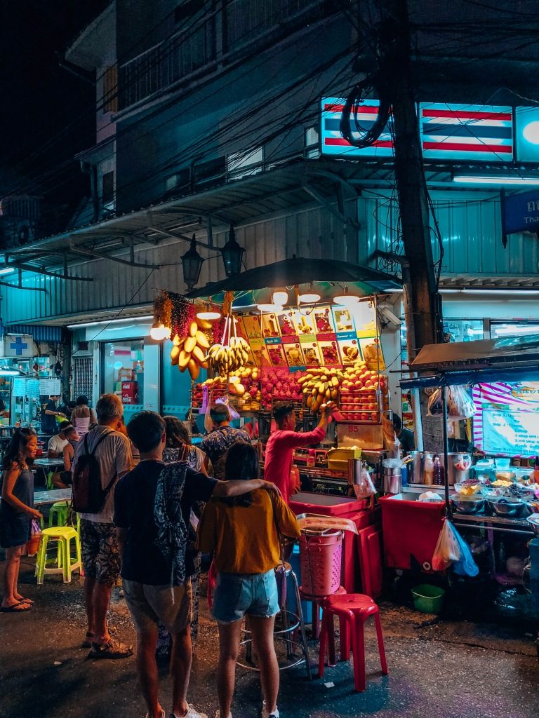 Soi Rambuttri Food Trucks, Bangkok