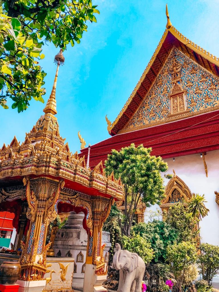 Wat Chana Songkhram Bangkok