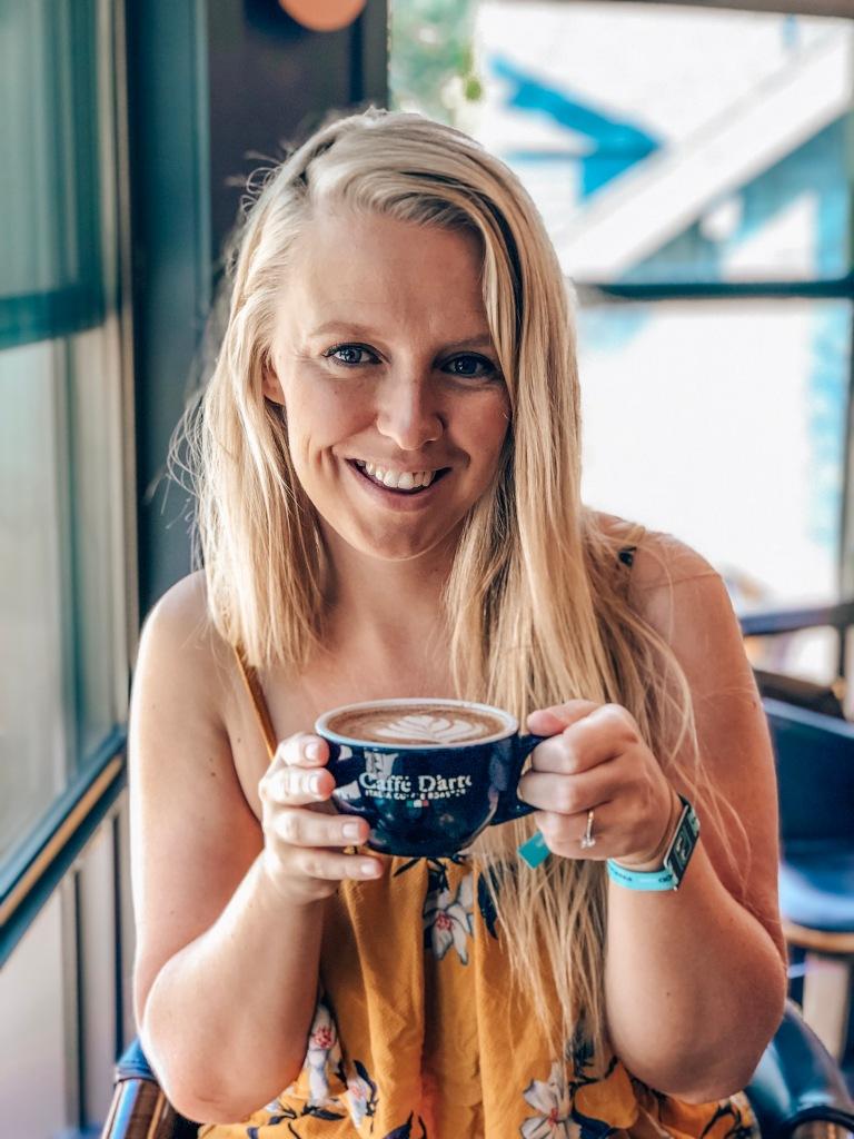 Coffee at Pangea Pod Hotel Whistler