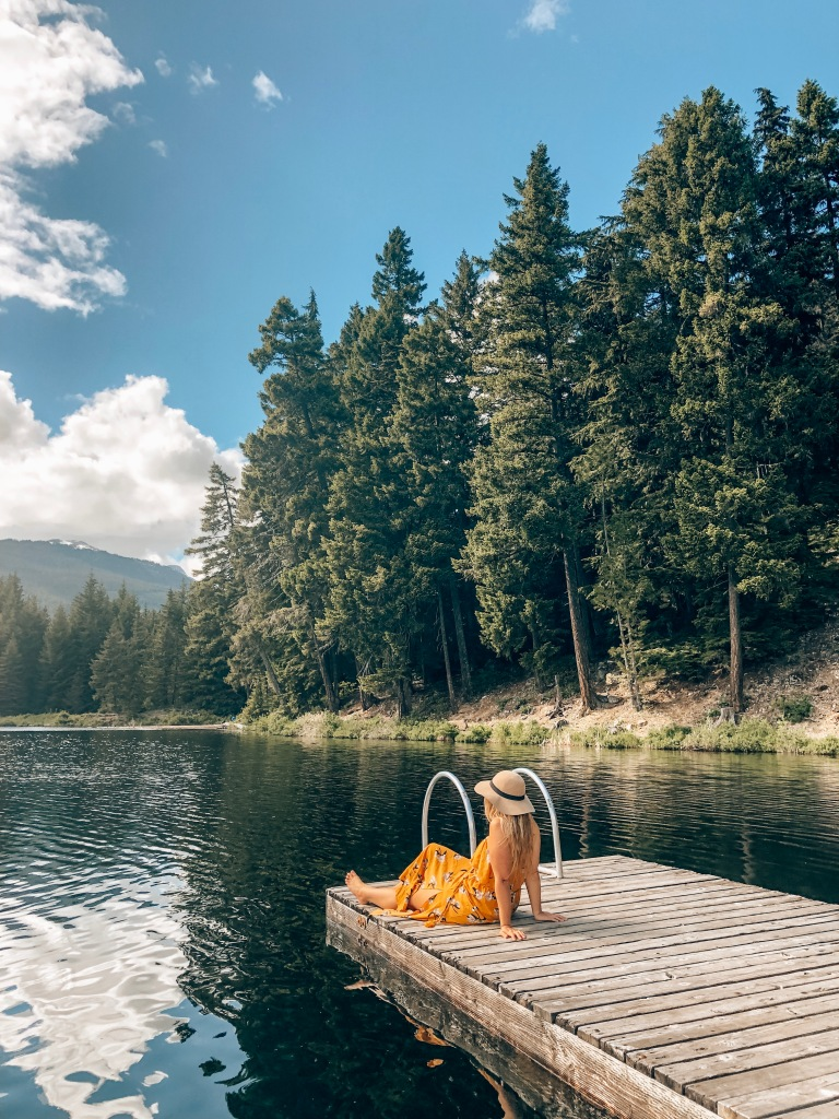 Lost Lake Dock Whistler Canada