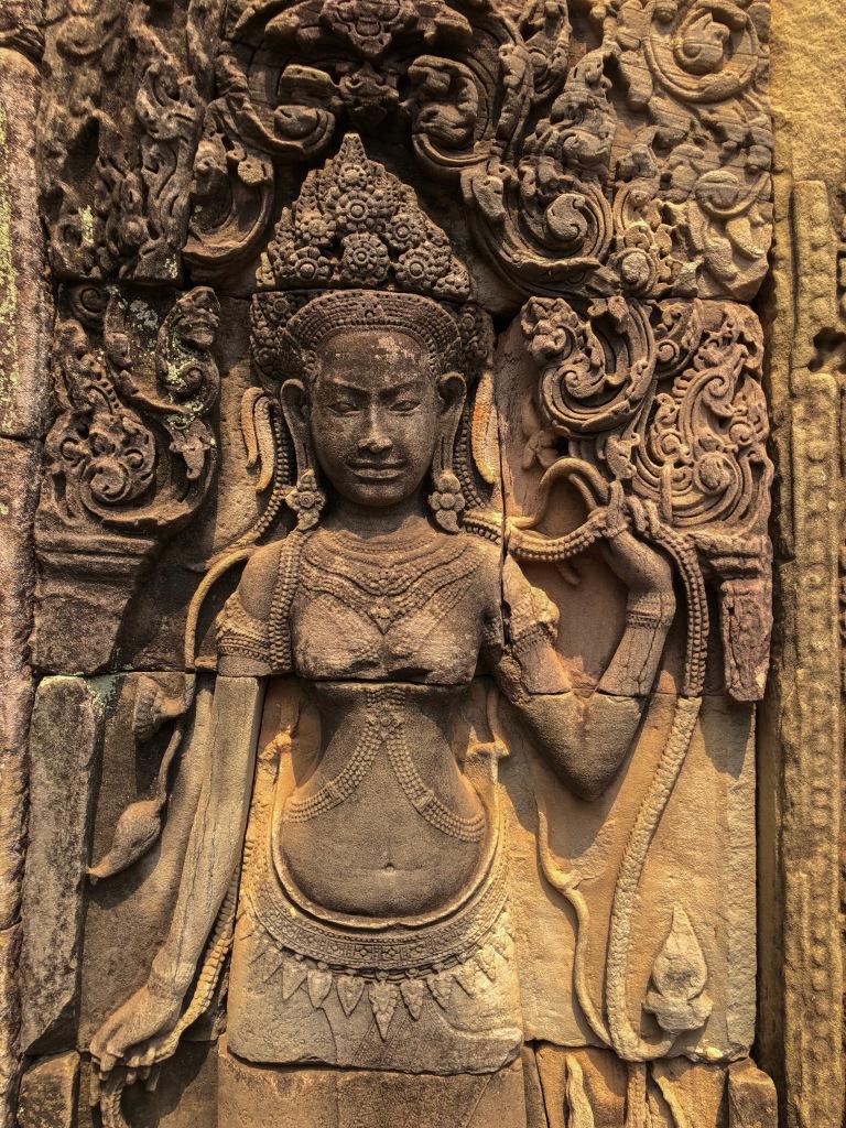 Banteay Kdei Carving, Siem Reap