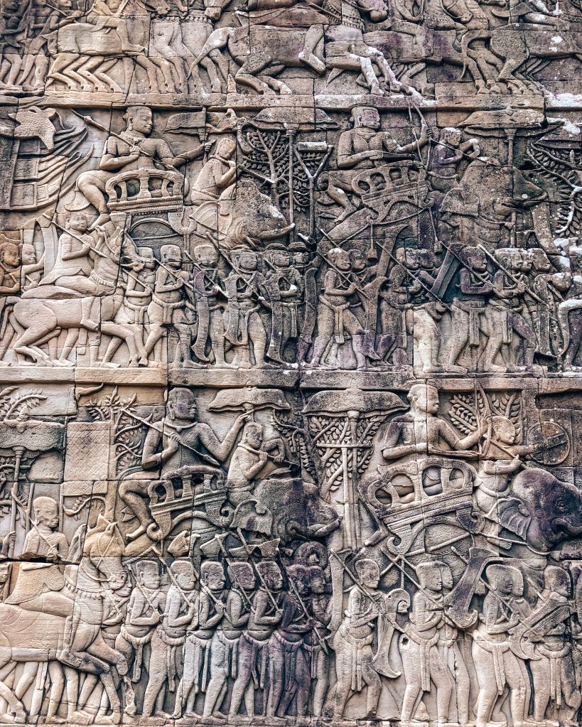 Bayon Carving, Siem Reap