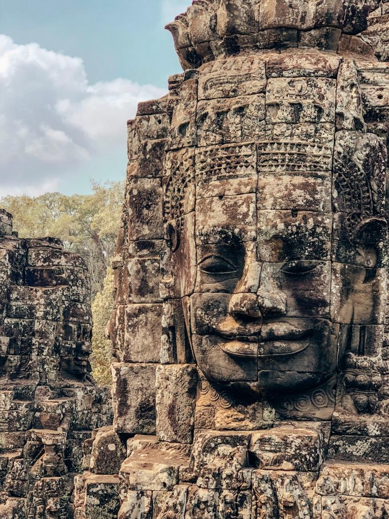 Bayon Face, Siem Reap
