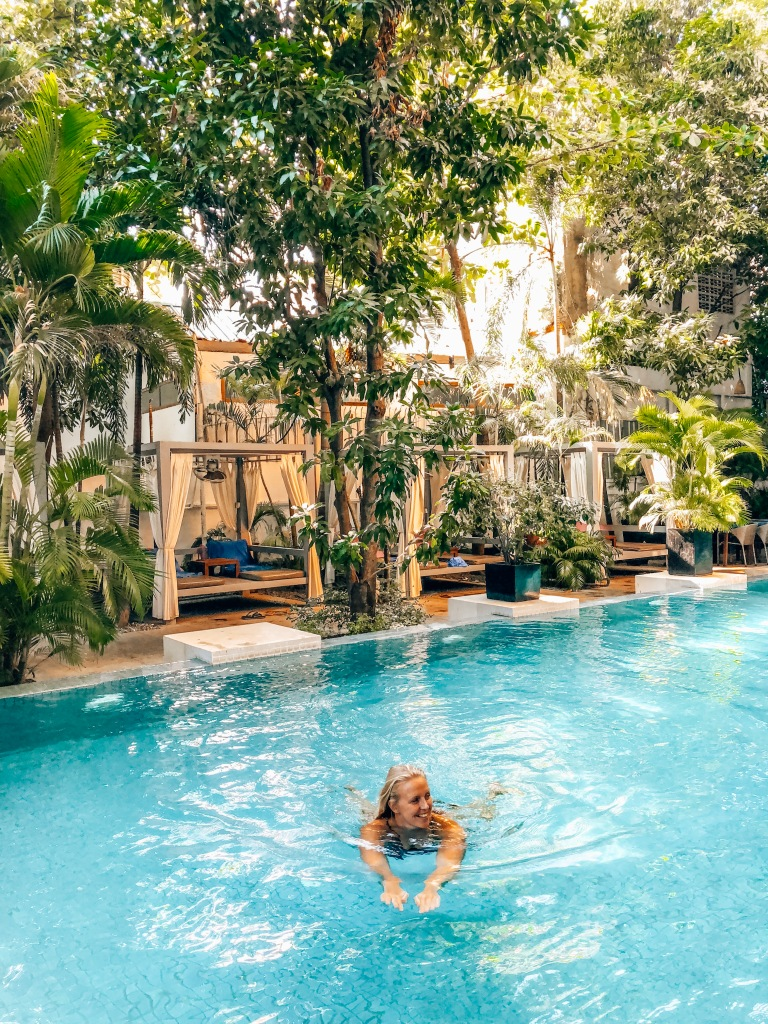 Blue Lime Swimming Pool, Phnom Penh