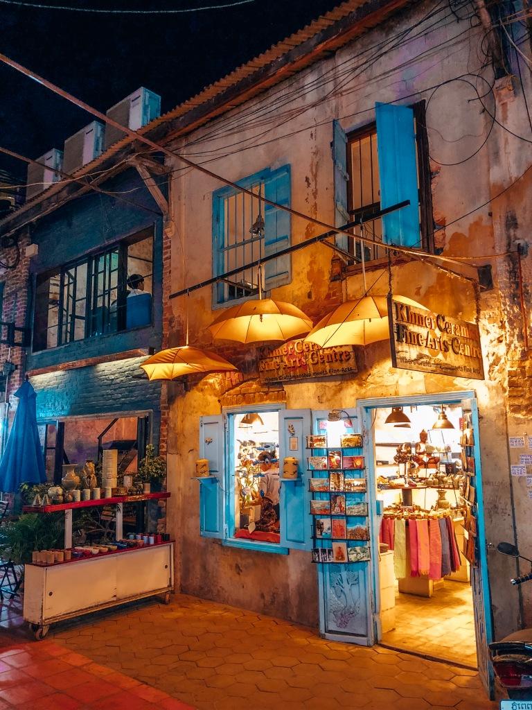 Siem Reap Shops