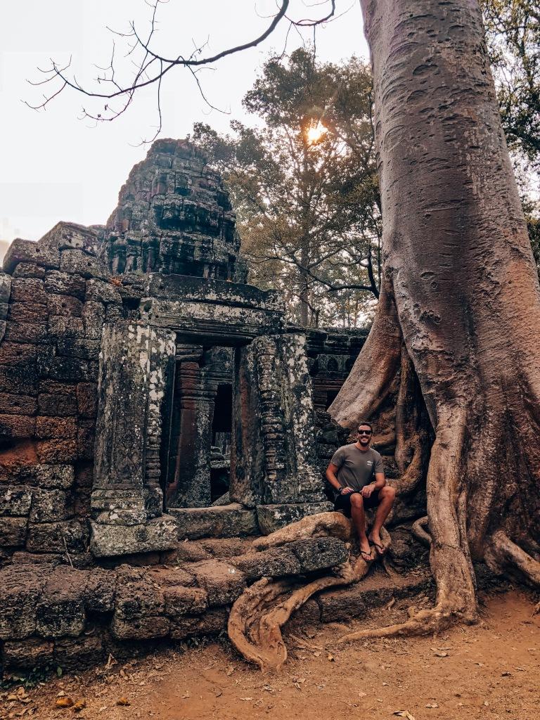 Ta Phrom Temple, Siem Reap, Cambodia.
