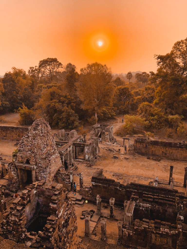 Temple Sunset, Siem Reap