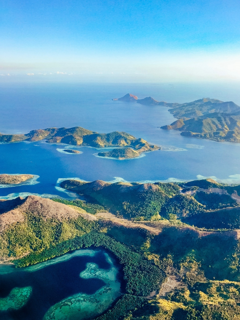 Coron from the Air