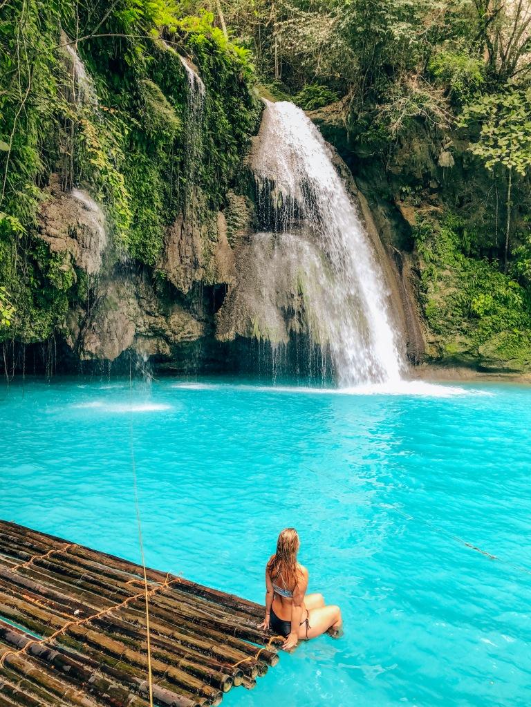 Kawasan Falls Bamboo Raft