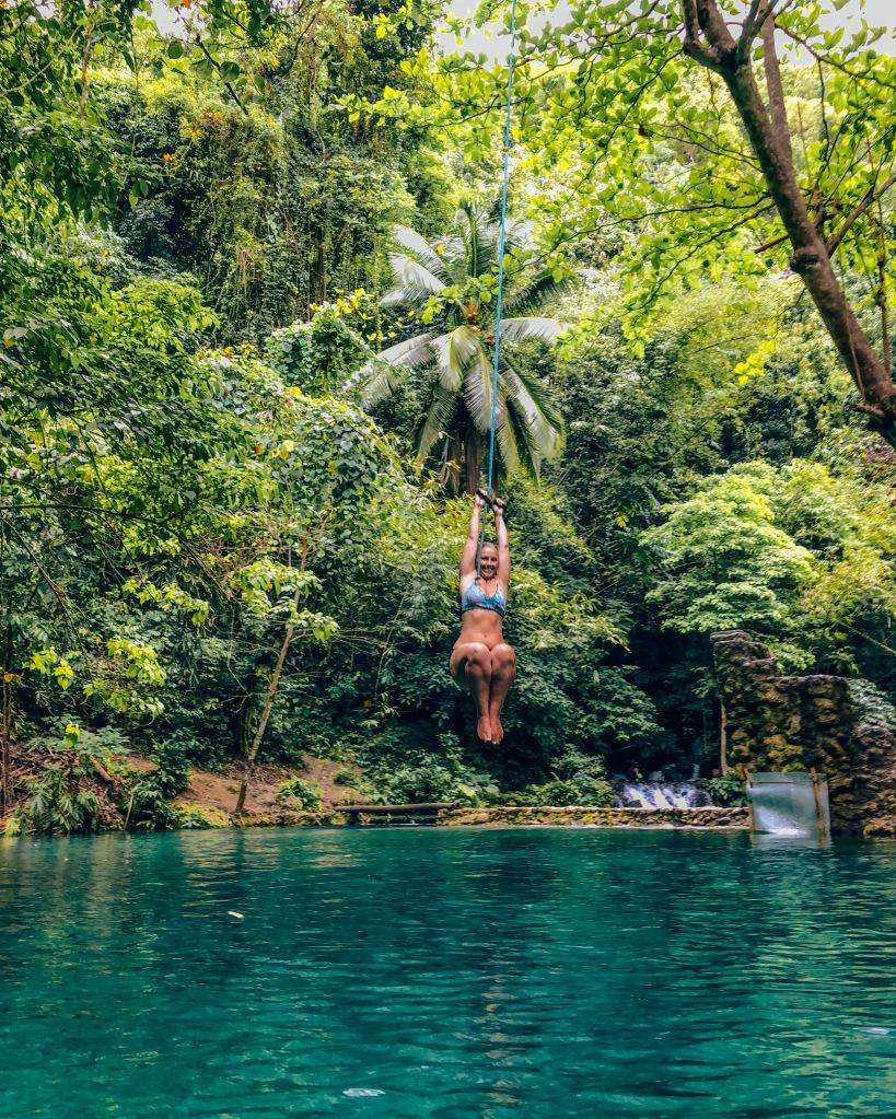 Kawasan Falls Rope Swing