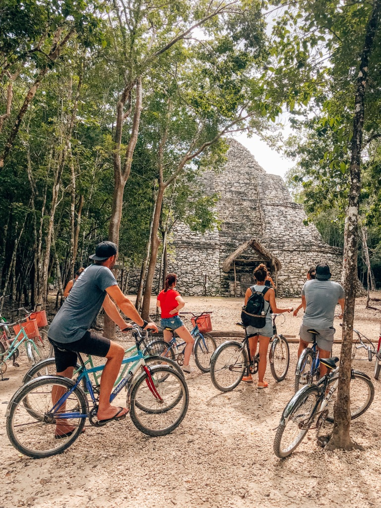 Cycle tour of Coba