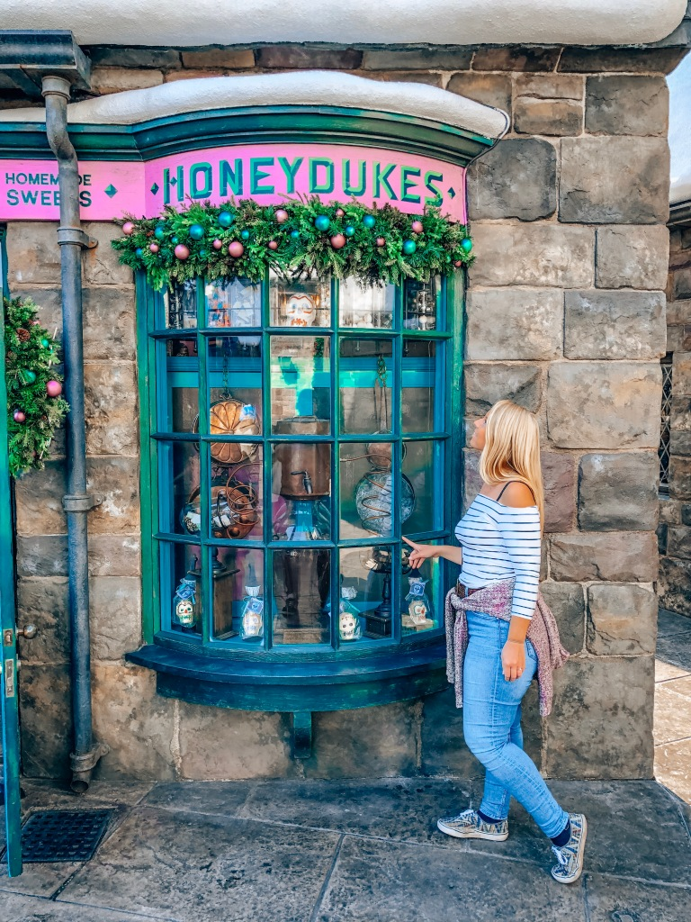Universal Studios Japan Honeydukes