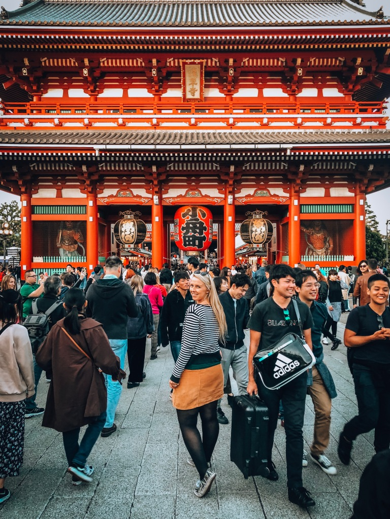 Senso Ji Temple Entrance