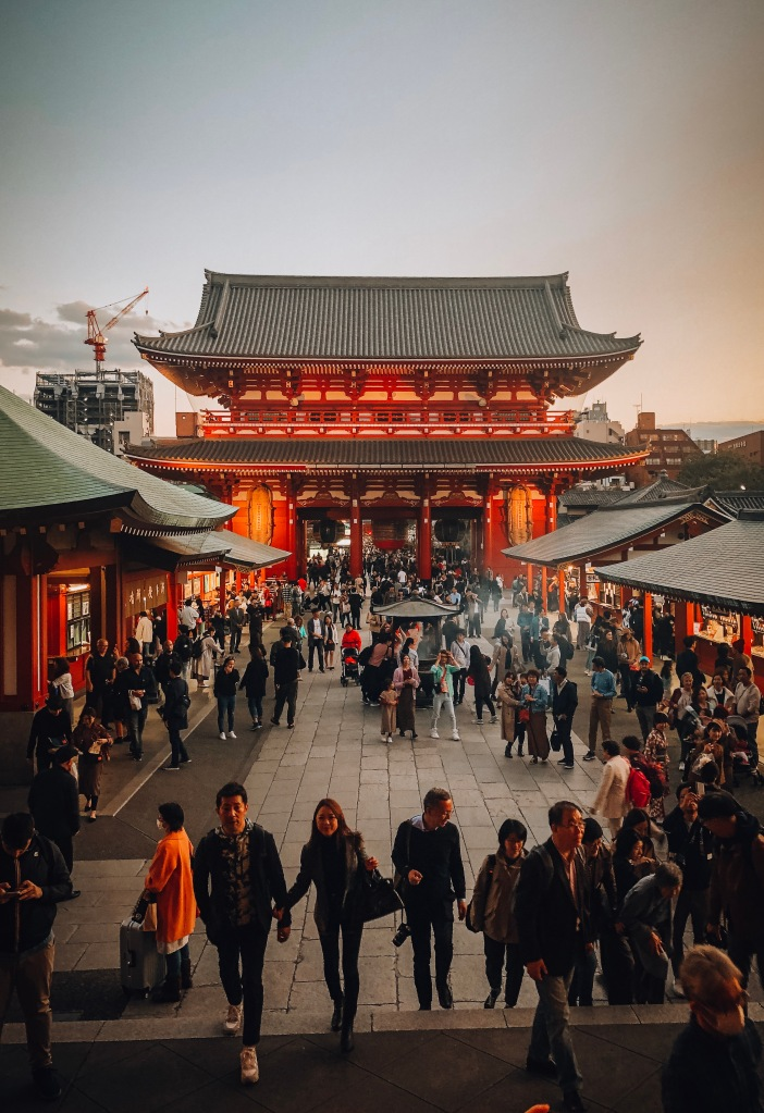 Senso-Ji Temple sunset