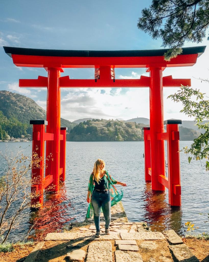 Tori Gate Lake Ashi