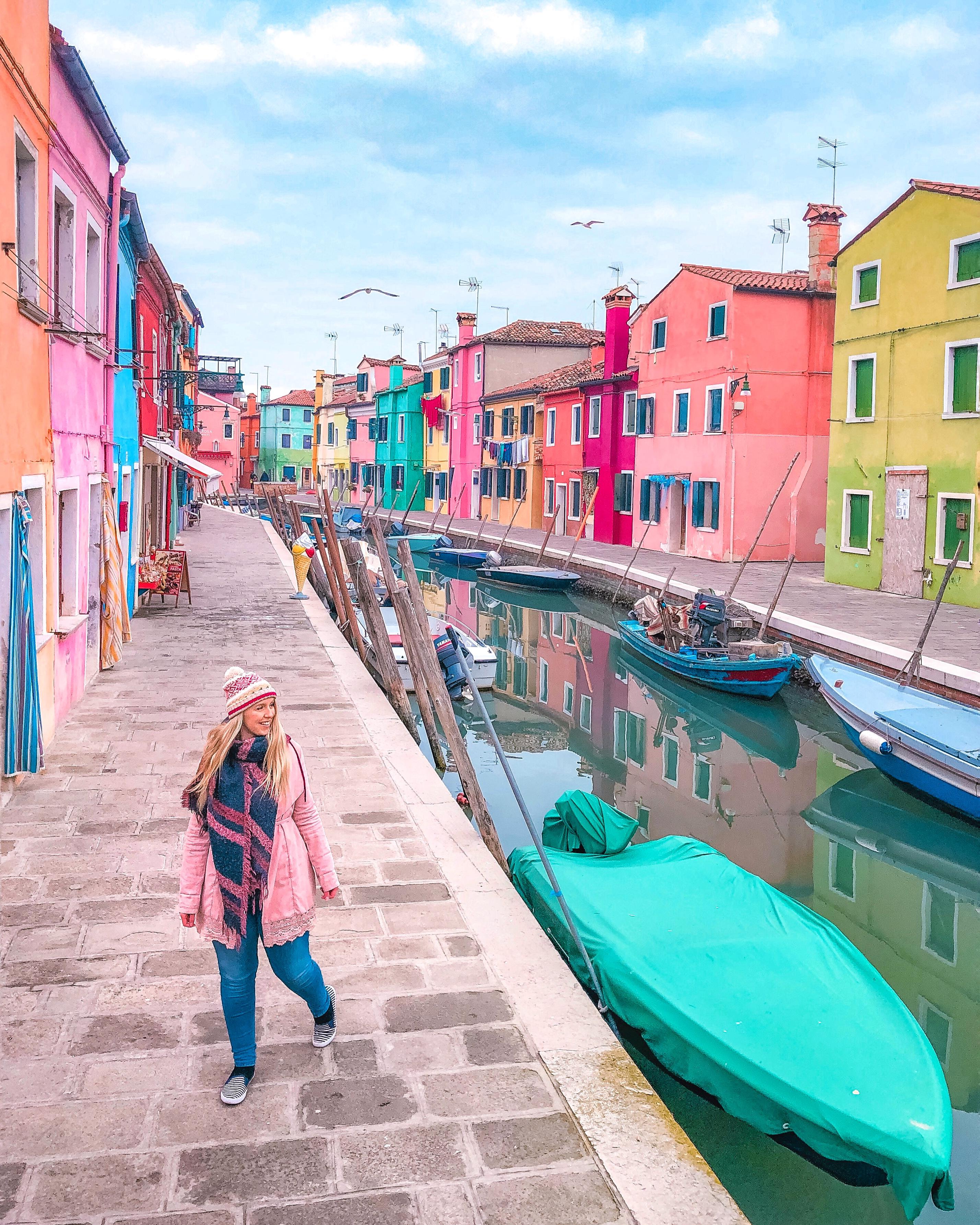 Burano, Venice, Rainbow Houses