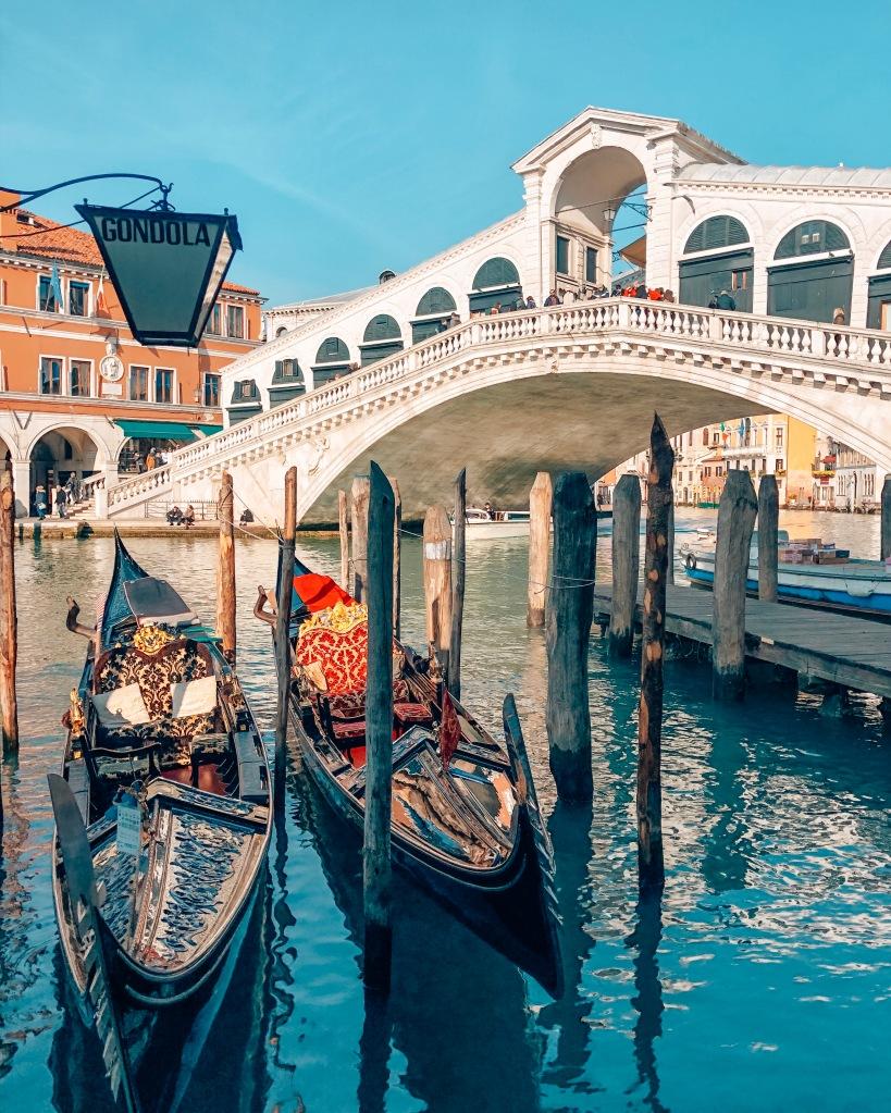 Rialto Bridge Gondola, Venice